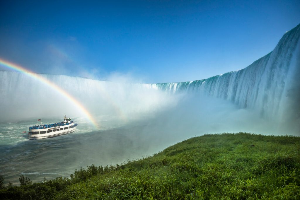 Niagara Falls is a road trip destination in Ontario
