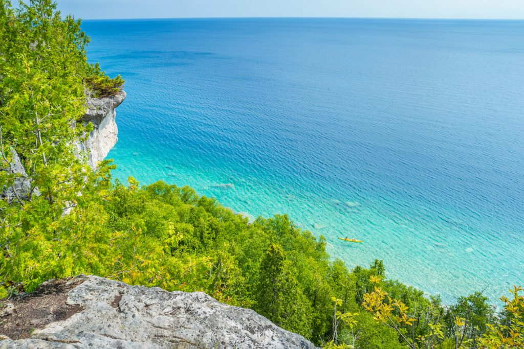 Tobermory is a road trip destination in Ontario
