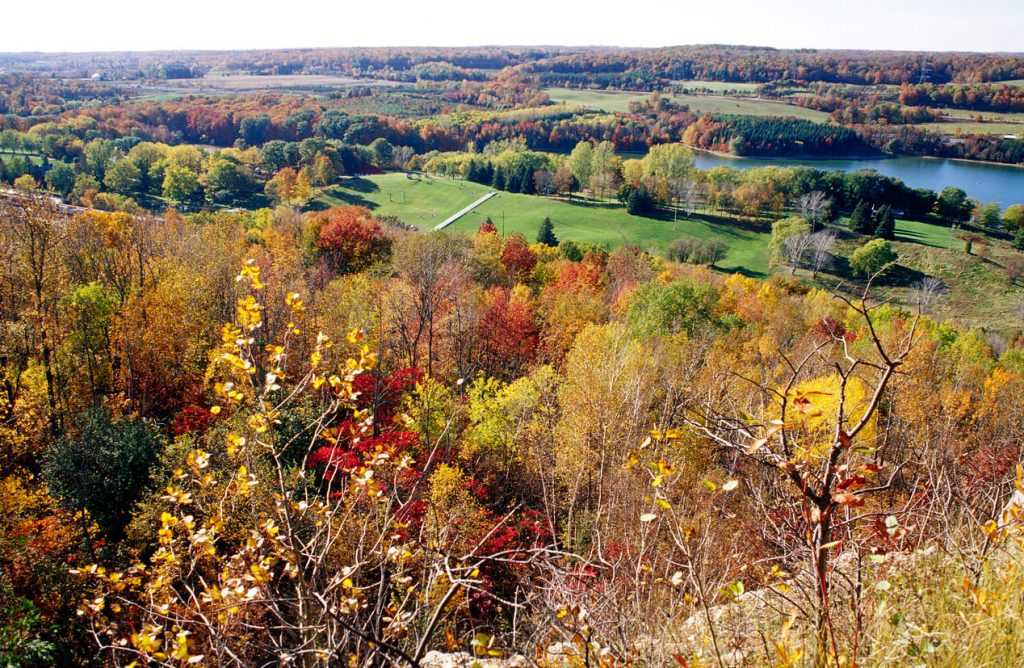 The Bruce Trail is a road trip destination in Ontario