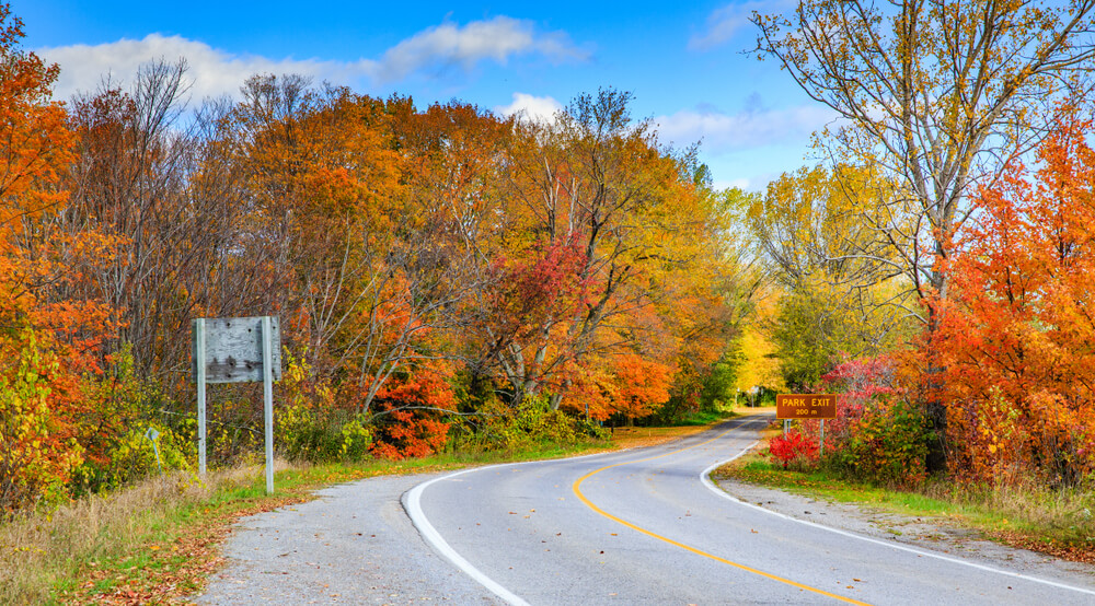 Scenic Prince Edward County is a great road trip destination in Ontario