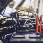 Jump Starting a Car Battery
