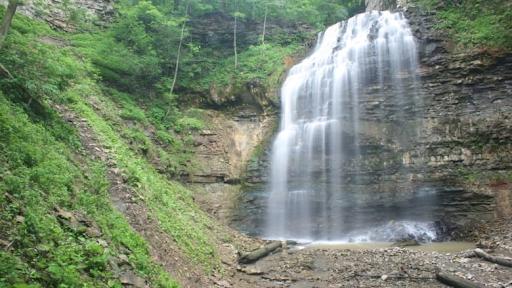 Tiffany Falls in Hamilton